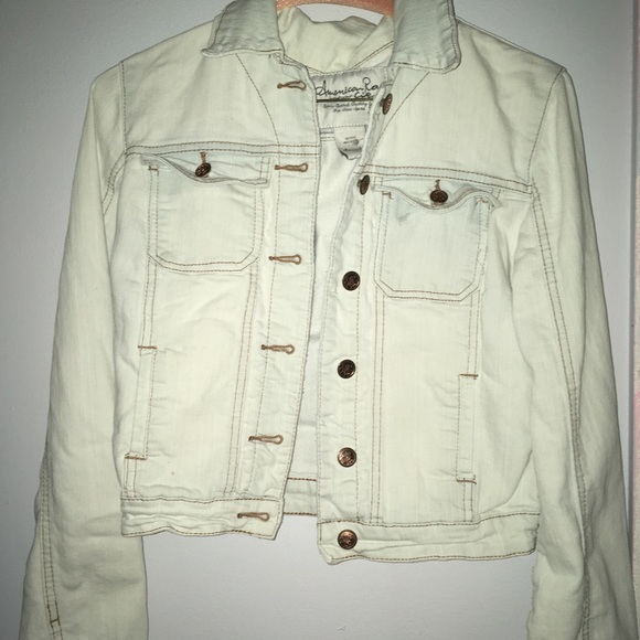 American Rag Jackets & Blazers - White jean jacket